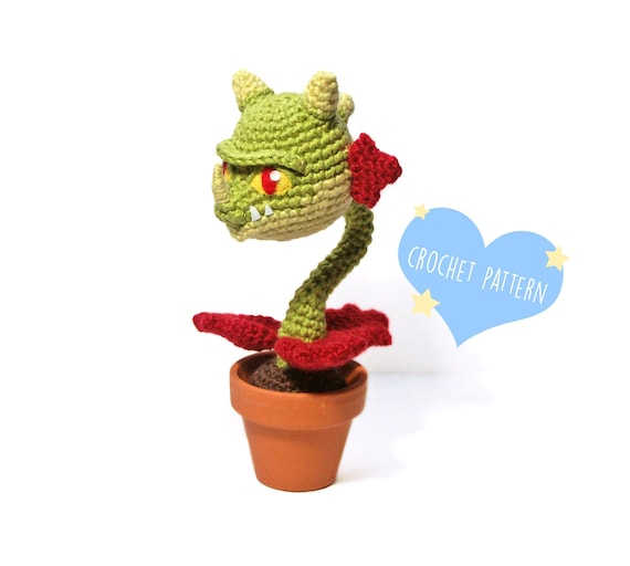 Cabbage-pult (Plants vs. Zombies) amigurumi pattern ... | 512x570