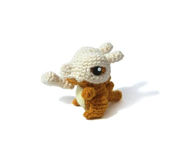 Cubone Pokemon Amigurumi crochet pattern | Etsy