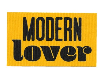 Modern Lover // Screen Printed Patch