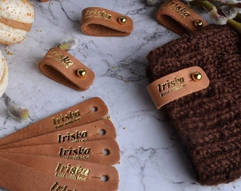 e97ff20666d Personalised Leather tags