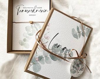 "Bracelet ""Traurednerin"", Do you want my...?, customizable, in gift box, 115 x 155 x 25 mm"