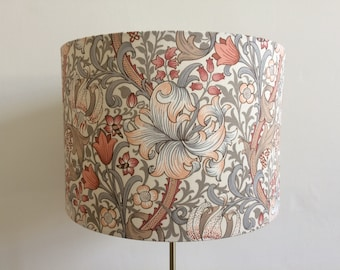 Victorian lampshade etsy william morris golden lily lampshade table lamp shade floor lamp art deco victorian lampshade vintage floral housewarming gift keyboard keysfo Images