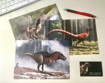 Dinosaur Prints - Limited Edition