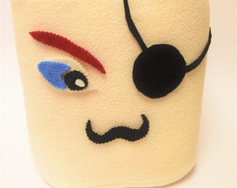 NEW! Fun marshmallow plushie game PIRATE pillow fight
