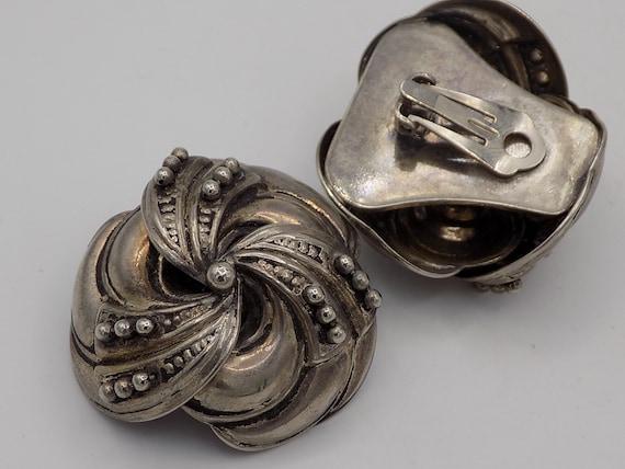 EARRINGS clip Vintage/clips women clips women, cl… - image 4