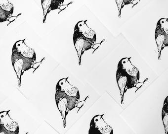 Original Print of a Robin