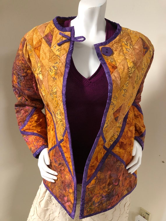 Handmade Quilted Jacket - image 1