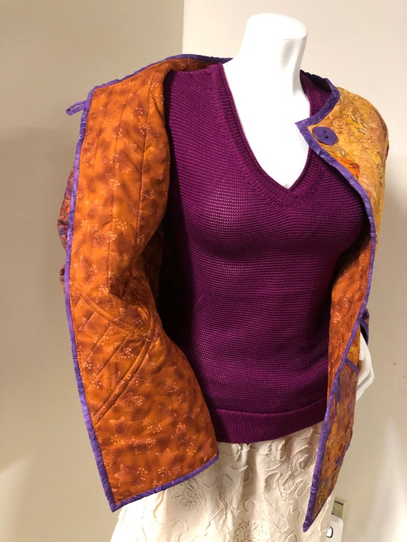Handmade Quilted Jacket - image 4