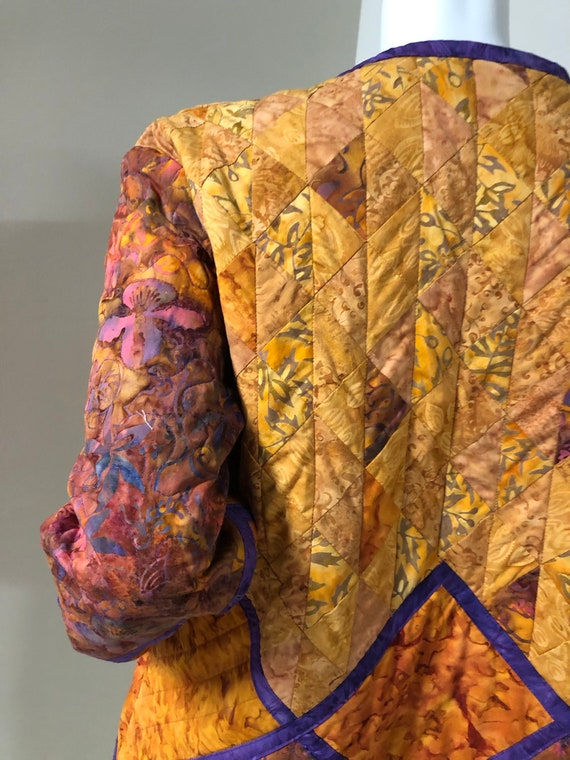 Handmade Quilted Jacket - image 6