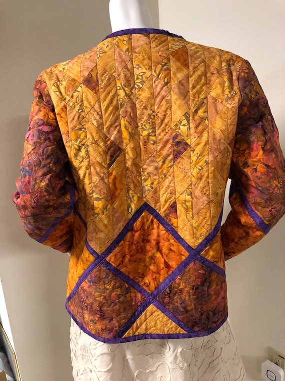 Handmade Quilted Jacket - image 5