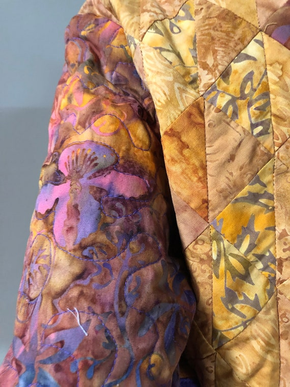 Handmade Quilted Jacket - image 7