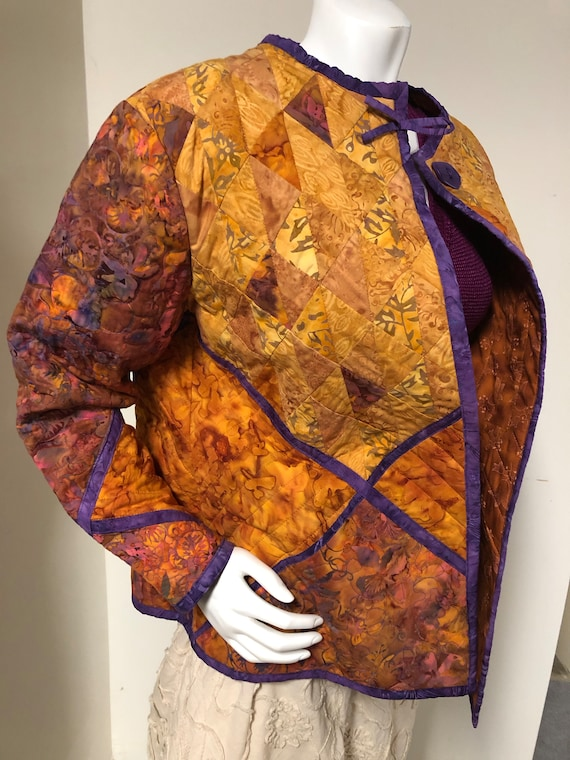 Handmade Quilted Jacket - image 3