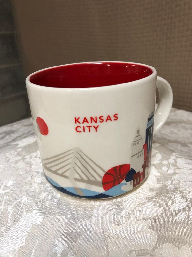 Starbucks Coffee Starbucks Starbucks Mug Coffee Mug Kansas City City Kansas ygf6b7