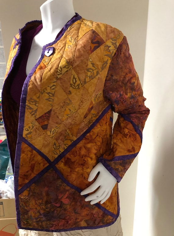 Handmade Quilted Jacket - image 2