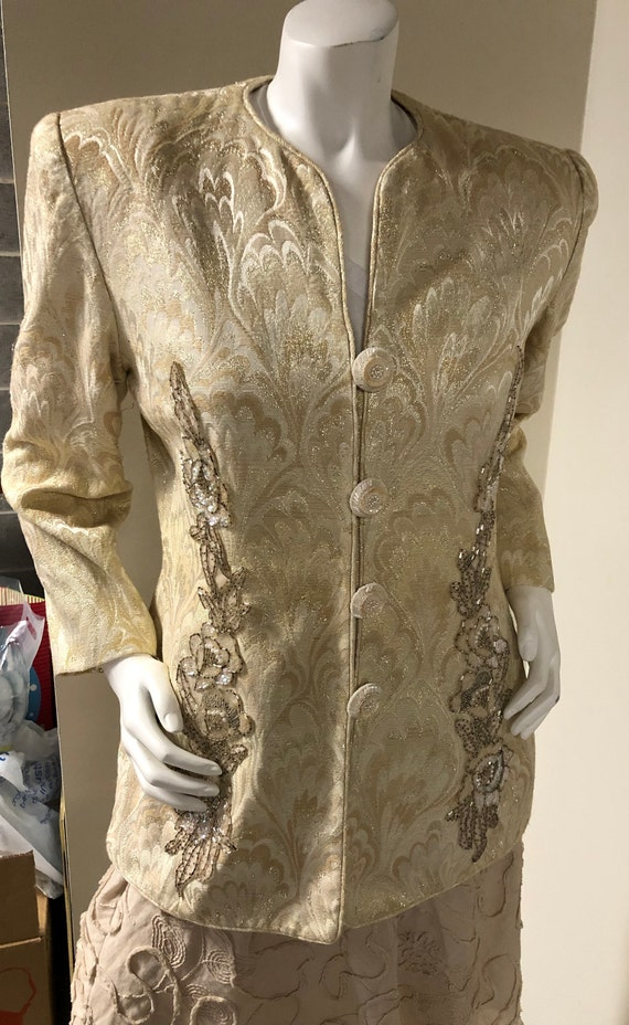 Lillie Rubin Classic Party Jacket