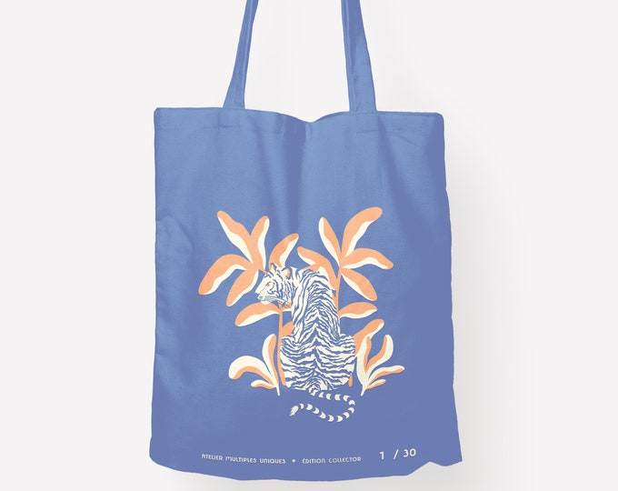 Featured listing image: Tote bag Tigre - édition collector