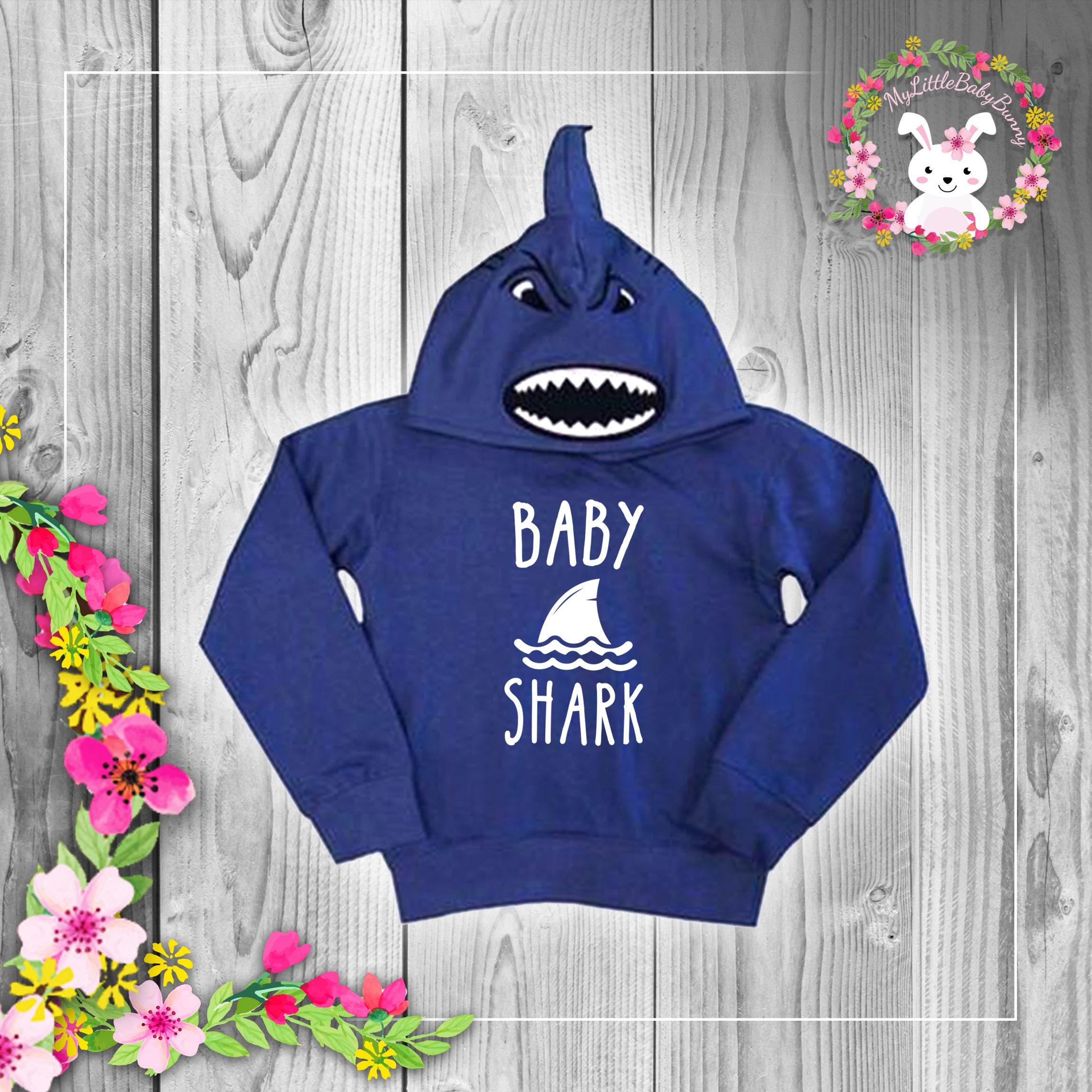 34e03861a Baby Shark Doo Doo Doo Baby Hoodie Cap Shark Baby Shark Funny