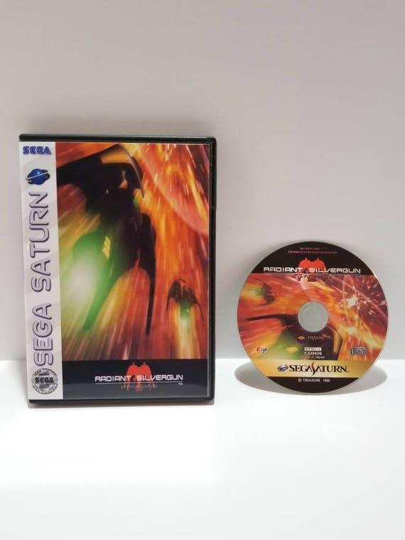 Radiant Silvergun Sega Saturn Reproduction sauvegarde