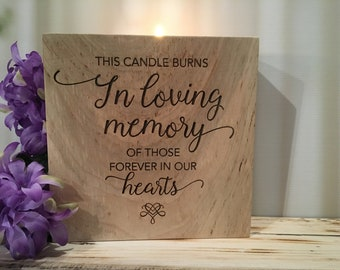 In Loving Memory Quotes | Memory Candle Quotes Etsy