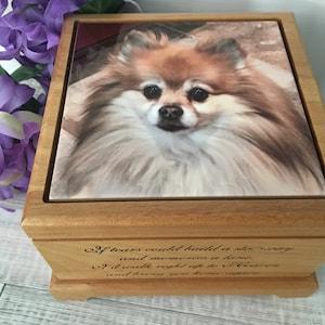 Pet Loss Dog Memorial Gift Keepsake Urn Pet Urn Cremation Pet Ashes Pet Memorial TYPE A