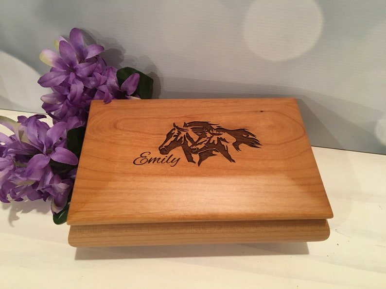 Grandmother Gift Granddaughter Gift 5th Wood Anniversary Gift Wedding Gift Jewelry Box for Girls Mothers Day Gift Jewelry Box Women