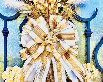 Ritzy Glitzy Wreaths Fall Swag, Autumn Swag, Fall Wreath, Fall Decor, Autumn Wreath, Autumn Decor, Harvest Wreath, jeweled swag