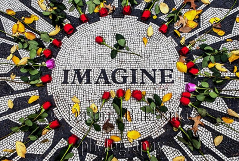 8532eea9c1f Strawberry Fields Imagine John Lennon Memorial Central
