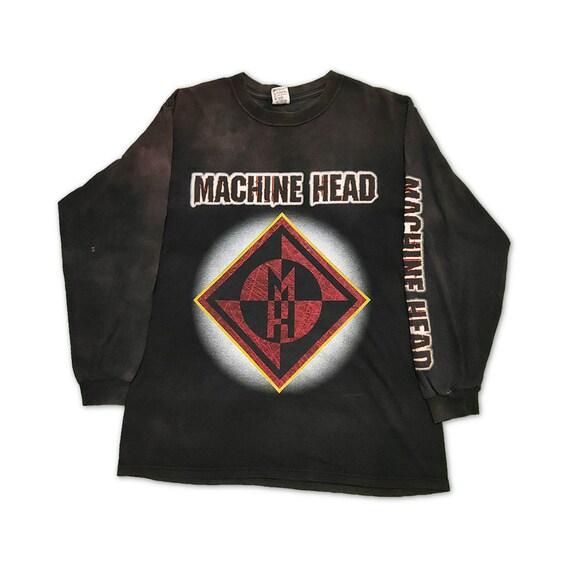 vintage machine head long sleeve t shirt