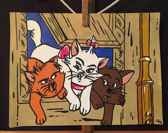 The Aristocats Painting