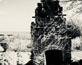 the chimney still stands