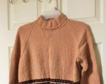 wool alpaca sweater pullover
