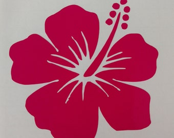 eefabe7204a7a1 Hibiscus Flower Decal