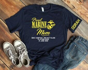 3da5d2e5 Marine Family Day Graduation shirts, US Marine Corps, Marine Boot camp  shirts, 3rd Battalion shirts, Proud Marine