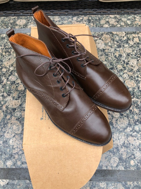 Eddie Bauer leather ankle boots