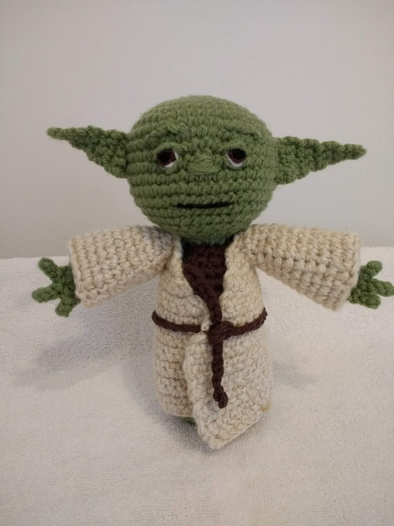 PATTERN / PATRÓN PDF Amigurumi Crochet Ganchillo Yoda Star
