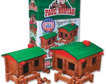 Paul Bunyan 200 pc. Deluxe Building Set