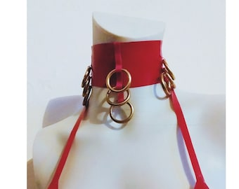 Latex collar with Double O-Ring
