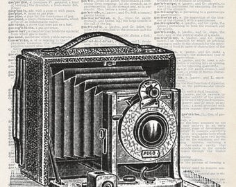 Vintage Camera Black and White