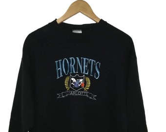 c92772eb7f972 Charlotte hornets sweatshirt   Etsy