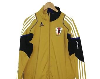 Vintage ADIDAS Japan Football Team Winbreaker   Training Jacket ab231d58b