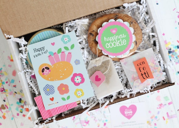 Birthday Gift Box In A Friend