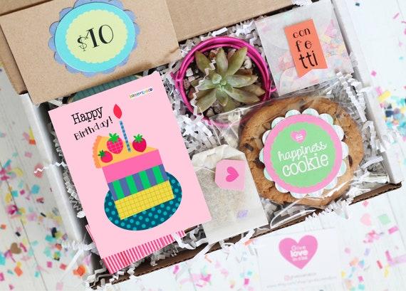 Birthday Gift Box Happy Party Friend