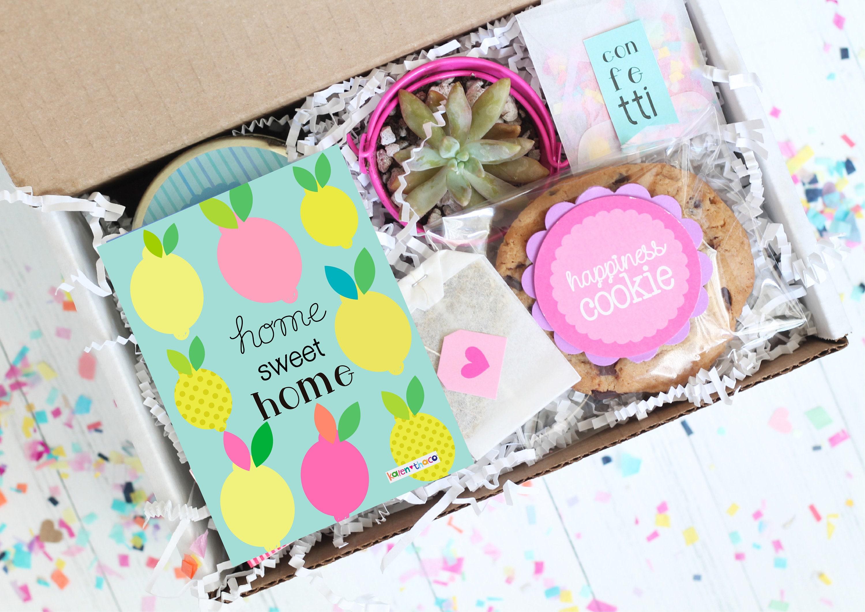 housewarming gift new home gift basket new homeowner gift etsy