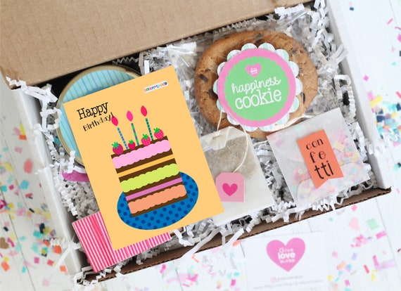Birthday Gift Box Send A In