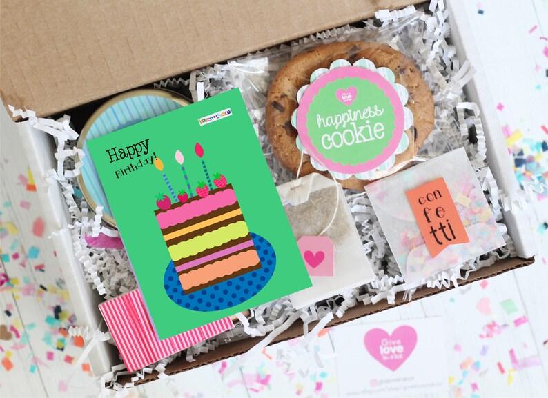 Happy Birthday Gift Box Day