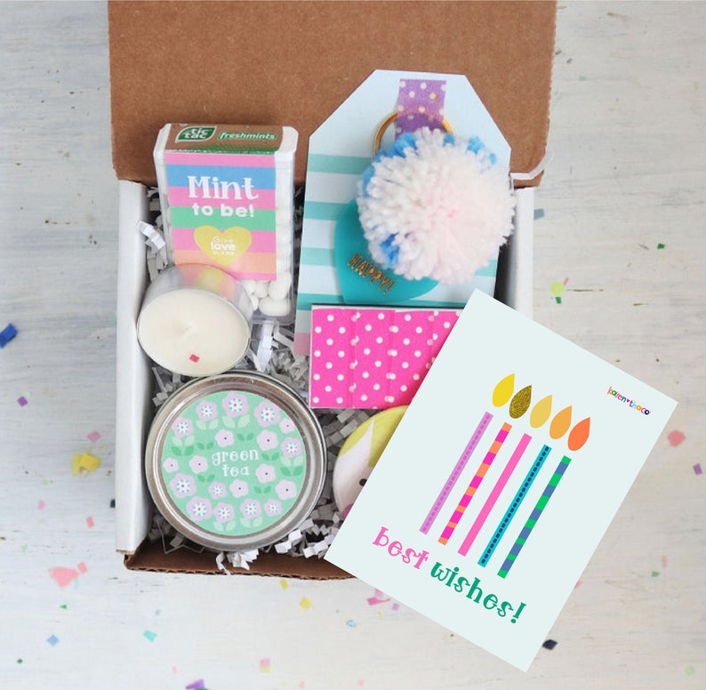 Birthday Gift Box For Her Best Wishes Gift Box Gift For Her Friend Gift Thank You Gift Box Happy Birthday Gift Box For Friends