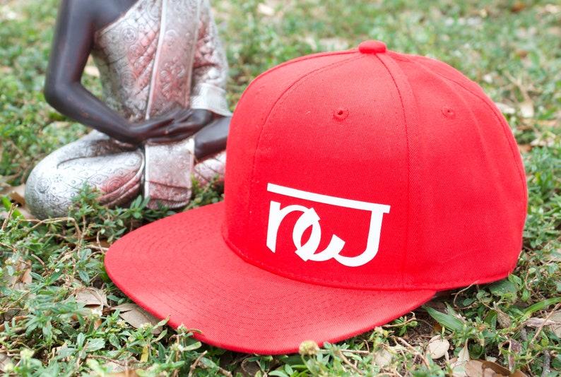 cfb6a1f33c0cb NW Red Unisex Handmade Cap For Men   Women Namaste