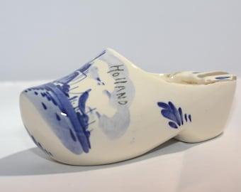 Redware Pottery Dutch Shoe Ashtray