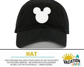8b3b154486af1 Disney Baseball Cap Mickey Mouse - Toddler Boy or Girl Mickey Head Hat - Kids  Disney Mickey Hat Disneyland - Mickey Birthday Cap - Hipster