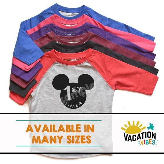 d5caea8427c Disneyland 1st Timer Shirt Boy or Girl Toddler First Trip to